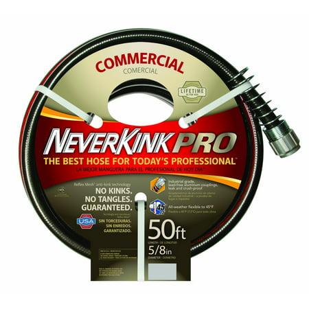NeverKink 8844-50 Series 4000 Commercial Duty Pro Garden Hose, 5/8-Inch by (5 8 Neverkink Pro Commercial Duty Garden Hose)
