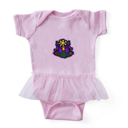CafePress - Eggplant Friends ... - Cute Infant Baby Tutu Bodysuit