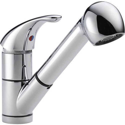 Peerless Kitchen Faucet with Pullout Spray, Available in Various Colors