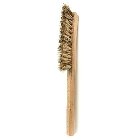 Redecker Union Fiber Corner Brush with Untreated Beechwood Handle, 11-Inches Union Fiber Brush