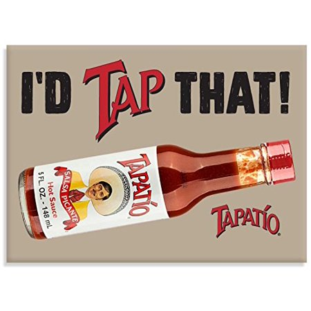 Tapatio, I'D TAP THAT!, Officially Licensed Tapatio Hot Sauce Brand, Heavy Duty Magnet- 2.5