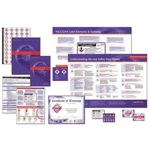 LABELMASTER GHISTRNKIT9 Training DVD,Workplace Safety,English G8303662