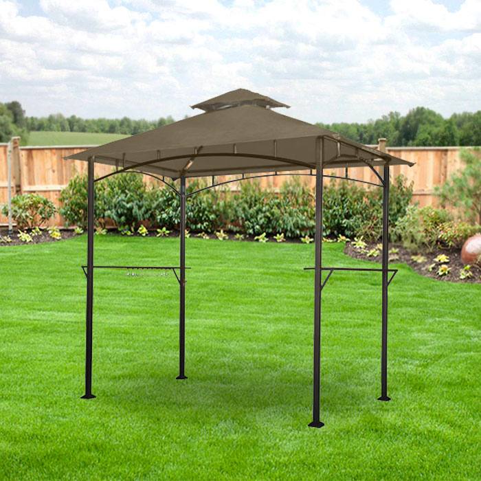Garden Winds Replacement Canopy Top for the Lighted Grill Gazebo - Riplock 350 & Grill Gazebo