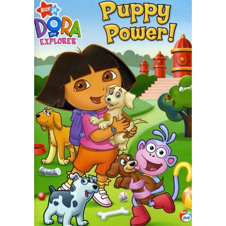 Dora The Explorer: Puppy Power (DVD)