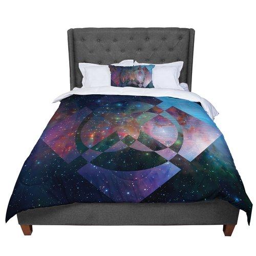 East Urban Home Matt Eklund Galactic Radiance Comforter