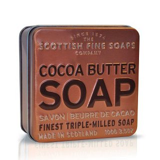 Scottish Fine Soaps In A Tin Collection   Cocoa Butter 100G 3 5Oz