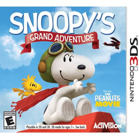 the peanuts movie snoopys grand adventure nintendo 3ds - Inventory Checker
