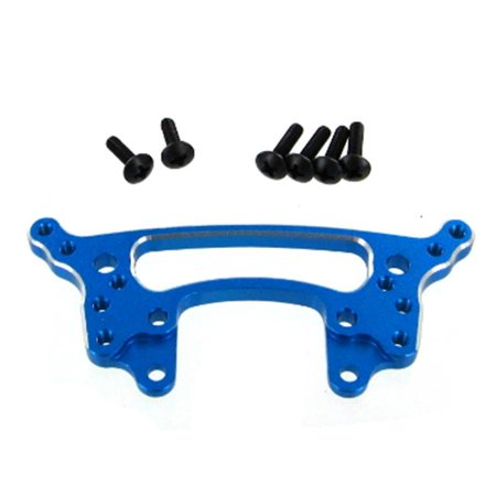 Redcat Racing 122223 Aluminum Rear Shock Tower, Blue Blue Aluminum Shock Tower