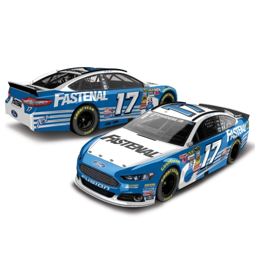 Ricky Stenhouse Jr. Action Racing 2015 #17 Fastenal 1:24 Scale Platinum Die-Cast Ford Fusion - No Size