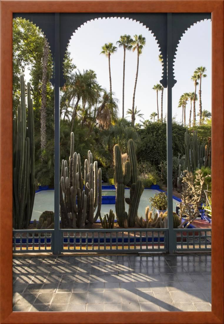 Jardin Majorelle Owned By Yves St Laurent Marrakech Morocco