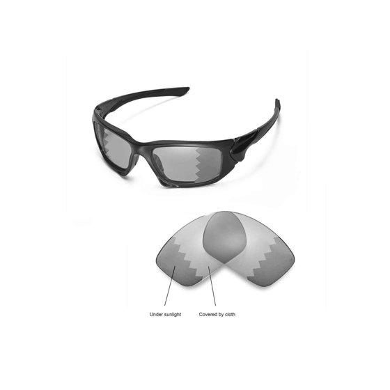 e6b32d9515 Walleva - Walleva Emerald Polarized Replacement Lenses for Oakley Scalpel  Sunglasses - Walmart.com