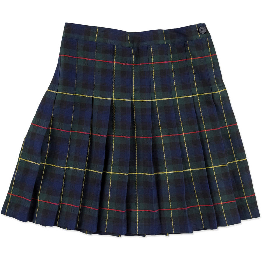 Plaid Skirt Uniform