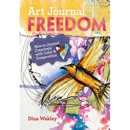 Art Journal Freedom : How to Journal Creatively with Color & (How To Mix The Color Brown)