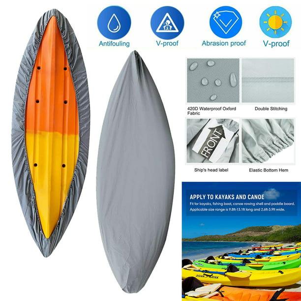 Kayak Canoe Boat Waterproof UV Resistant Dust Storage Covers Shield 3-6Meter