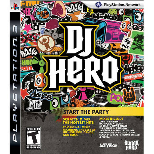 DJ Hero - Game Only (PS3) - Pre-Owned