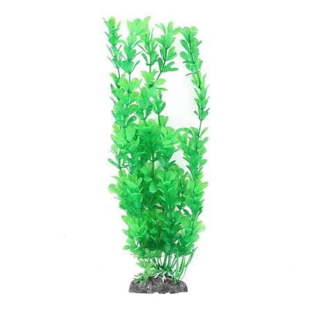 Fish Tank Aquarium Plastic Plants Artificial Ornament Aquatic Waterweed Green