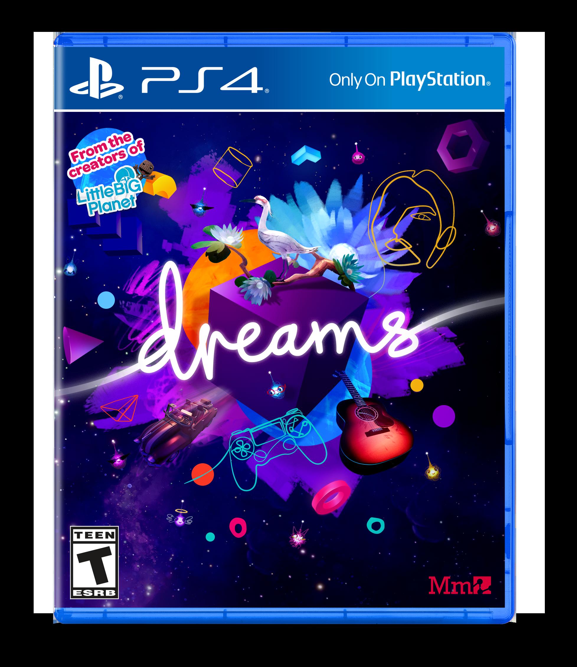 Dreams, Sony, PlayStation 4, 711719503446