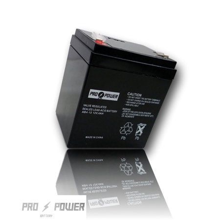 Pro Power 12V 4Ah  Replacement Battery For Power Sonic Ps 1250