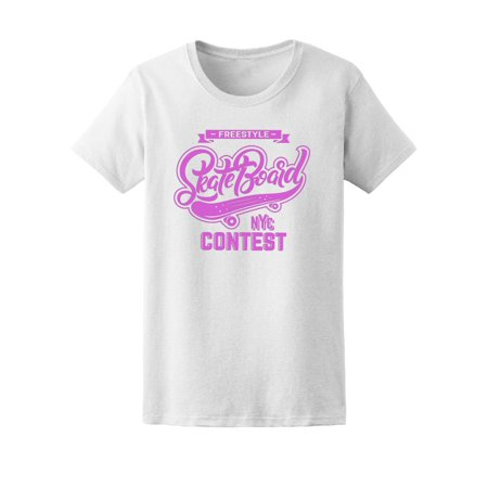 Freestyle Skateboard Nyc Contest Tee Women's -Image by Shutterstock - Box Tops Halloween Contest