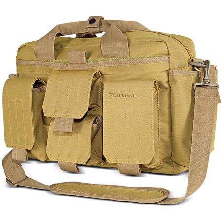 Kiligear Concealed Carry Tactical Modular Response Bag - Tan -