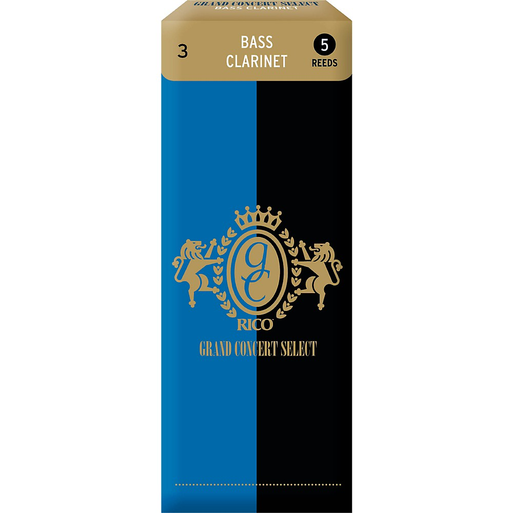 Grand Concert Select Bass Clarinet Reeds Strength 3 by Grand Concert Select