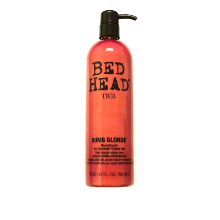 Tigi Bed Head Dumb Blonde Reconstructor Conditioner 25.36 Oz, For Chemically Treated Hair