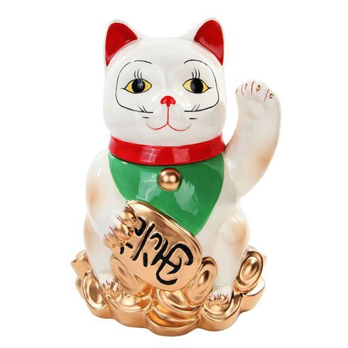 Click here to buy Maneki Neko Cookie Jar by Pacific Trading.
