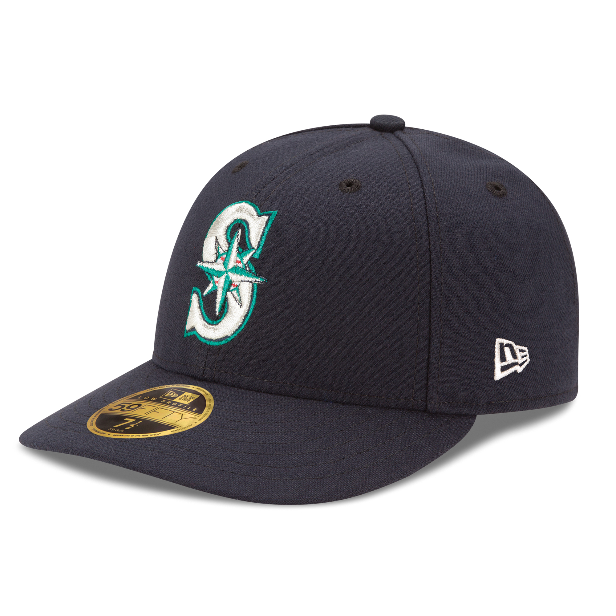 Seattle Mariners New Era Authentic Collection On Field Low Profile Game 59FIFTY Fitted Hat - Navy