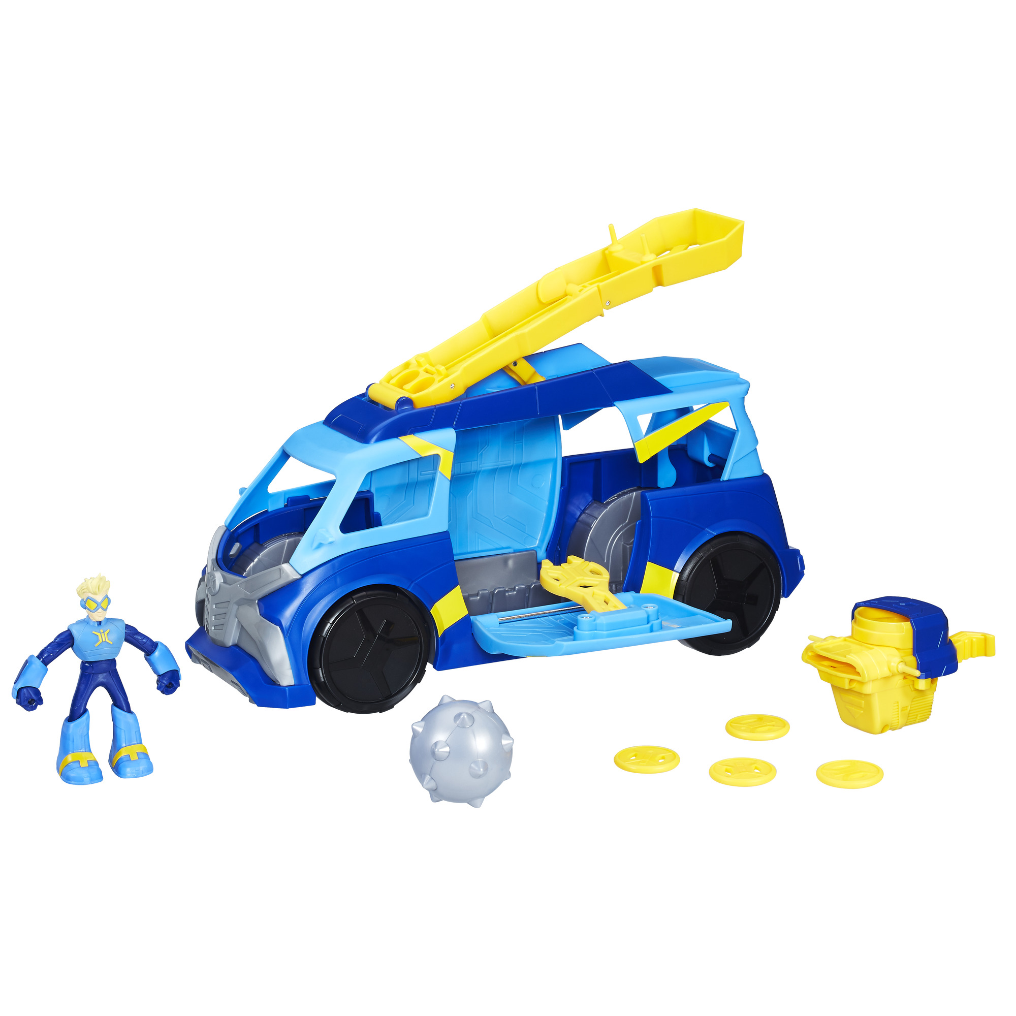Stretch Armstrong and the Flex Fighters Flex Power Mobile HQ
