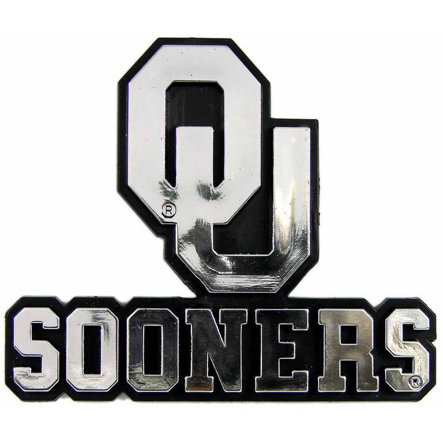 NCAA Oklahoma Chrome Emblem