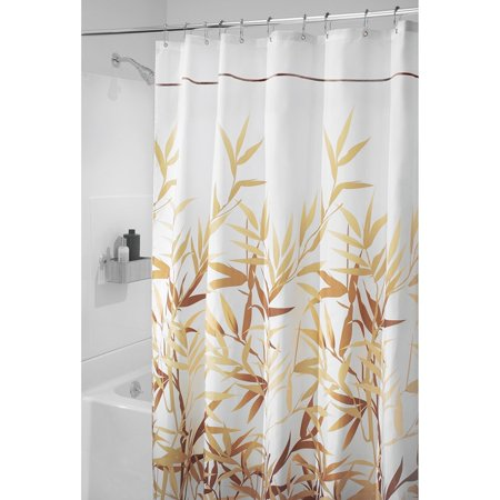 Anzu Fabric Shower Curtain Long 72 Inches X 84 Brown By Interdesign Ship From Us