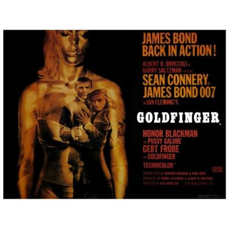 Goldfinger - movie POSTER (Style C) (11