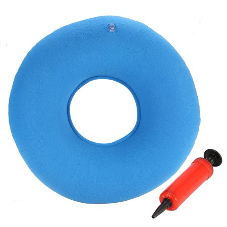VBESTLIFE Chair Cushion Inflatable Round Chair Pad Hip Support Hemorrhoid Seat Cushion With (Best Office Chair For Hemorrhoids)
