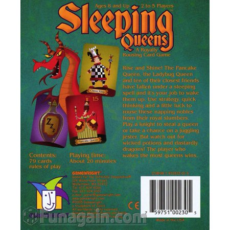 Sleeping Queens Multi-Colored