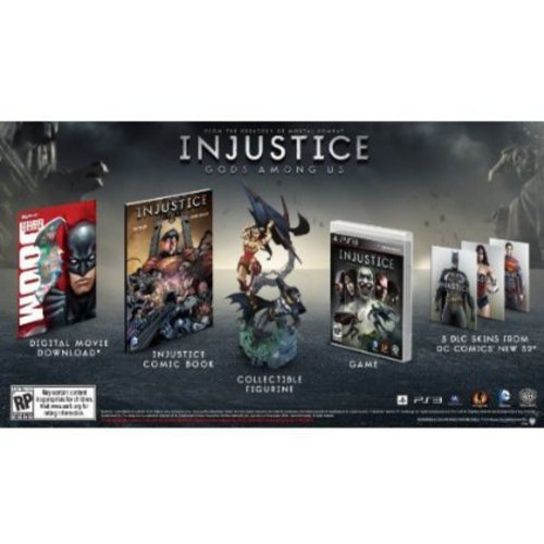 Injustice Gods Among Us: Collector's Edition PLAYSTATION 3