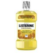 Listerine Original Antiseptic Oral Care Mouthwash, 1.5 L