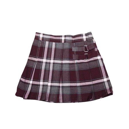 b18e4f63f7 FRENCH TOAST - French Toast School Uniform Girls Regular & Plus Sizes Pleat  Plaid Scooter Skirt, 35136 burgundy plaid / 20.5Plus - Walmart.com