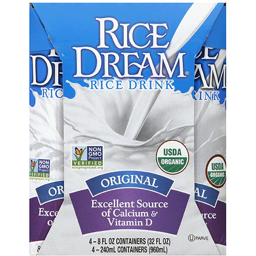 Rice Dream Original Rice Drink, 32 fl oz, (Pack of 6)
