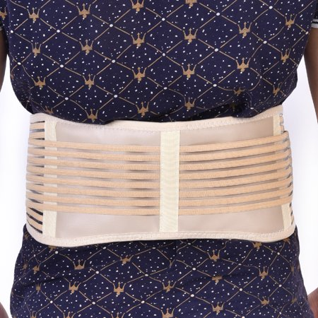 Peahefy Self-heating Magnetic Therapy Waist Belt Back Brace Lumber Support Breathable Unisex,Waist Support, Self-Heating Waist Belt - image 2 of 8