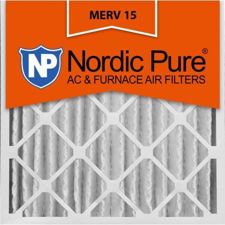 1 ? Absolute Pleated Filter (24x24x4 Pleated MERV 15 AC Furnace Air Filters Qty 1 )