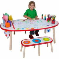 ALEX Toys Artist Studio Super Art Table (Rainbow Dots)