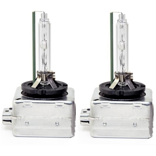 D1R 35W 6000K Color White HID Xenon Replacement Headlight Bulbs Pair Set x2 NEW