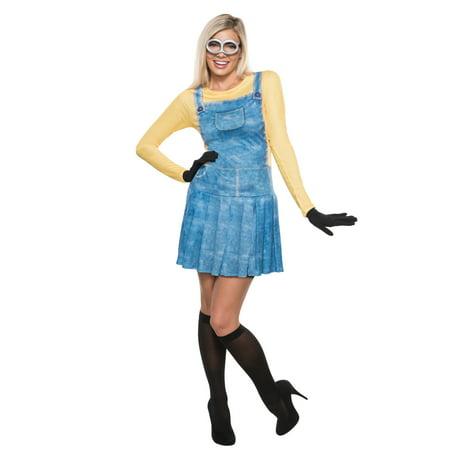Diy Minion Halloween Costume For Adults (Minions Movie Women's Minion Women's Adult Halloween)