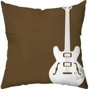 Checkerboard, Ltd Rock Star Throw Pillow