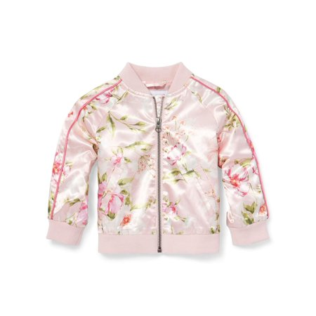 The Children's Place Floral Bomber Jacket (Baby Girls & Toddler Girls)
