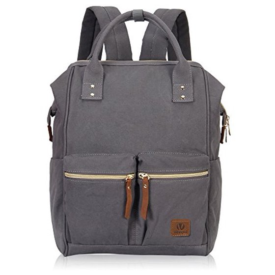 7a2b3dbeb Hynes Eagle - Hynes Eagle Stylish Doctor Style Canvas School Backpack  Functional Travel Bag for Men Women - Walmart.com