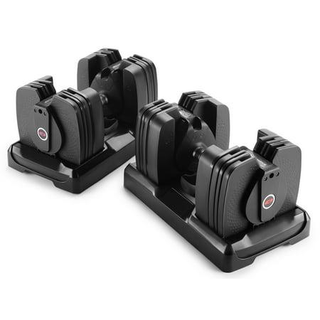 Bowflex SelectTech 560 Bluetooth Dumbbells Sync with SelectTech & 3DT