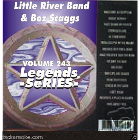 Boz Scaggs LITTLE RIVER BAND Legends Karaoke CD+G LOWDOWN Jojo LADY Reminiscing