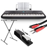 Alesis Recital Pro 88-Key Digital Piano w Hammer-Action Keys & More!