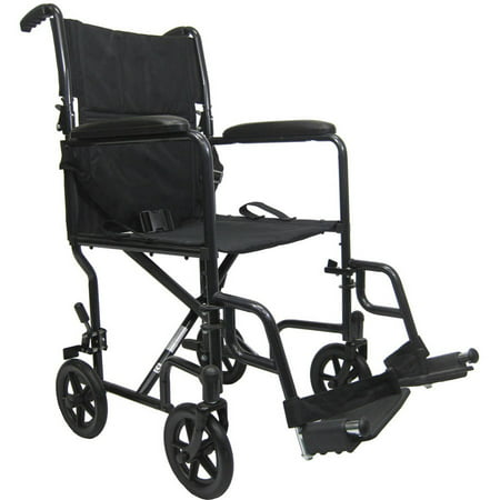 Karman T-2019 Lightweight Transport Chair with Removable